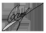 Signature du Président de la Chambre de Métiers et de l'Artisanat de l'Ain, Vincent GAUD