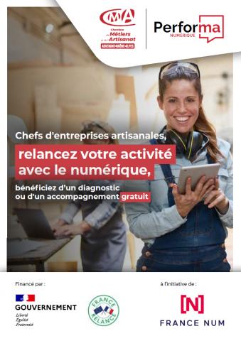 Performa numérique CMA Auvergne-Rhône-Alpes