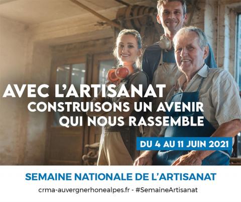 Semaine de l'artisanat - CMA Auvergne-Rhône-Alpes
